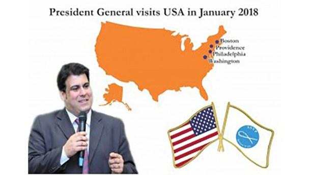 Presidente Geral da SSVP visita os Estados Unidos da América