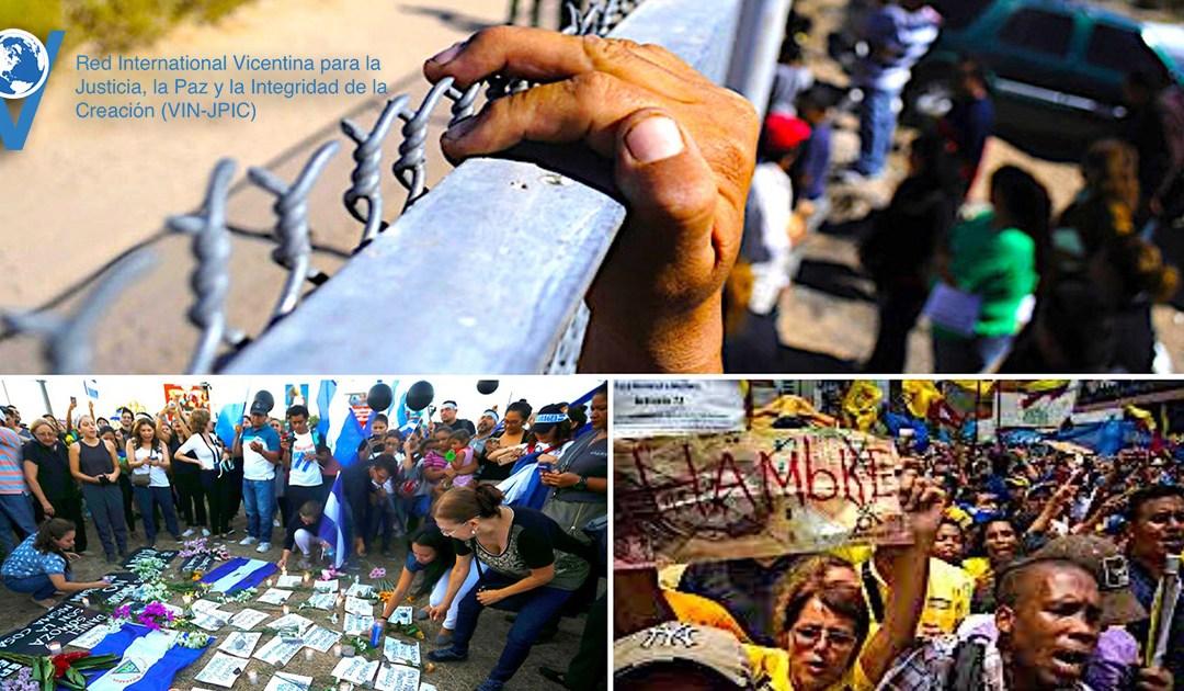 Comunicado em solidariedade à Nicarágua, à Venezuela e aos migrantes dos Estados Unidos