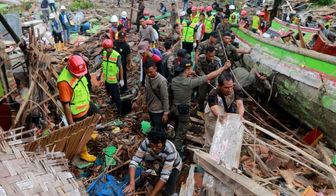 A Família Vicentina ora pelas vítimas na Indonésia
