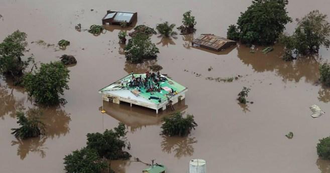Desastre em Moçambique