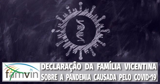 Declaração da Família Vicentina sobre a pandemia causada pelo Covid-19