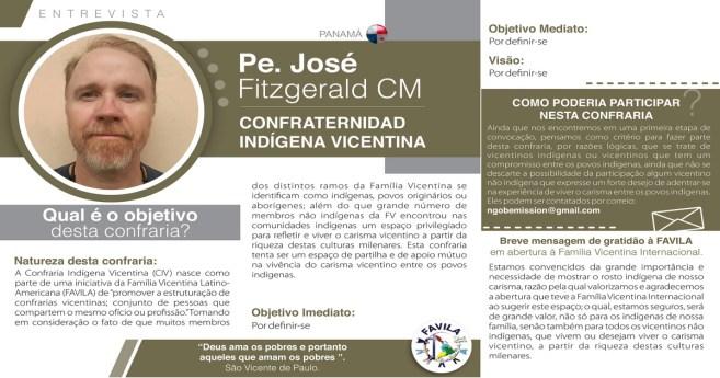 Entrevista com Pe. José Fitzgerald CM, coordenador da Confraria Indígena vicentina