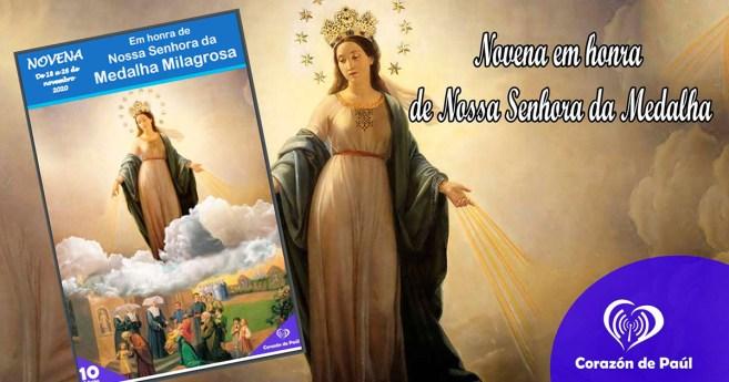 Novena em honra de Nossa Senhora da Medalha Milagrosa 2020
