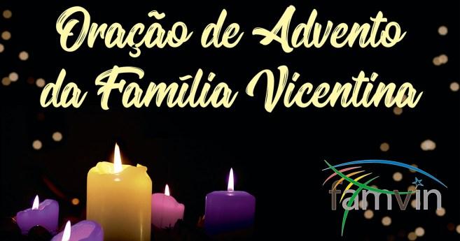Oração de Advento da Família Vicentina, 6 de dezembro