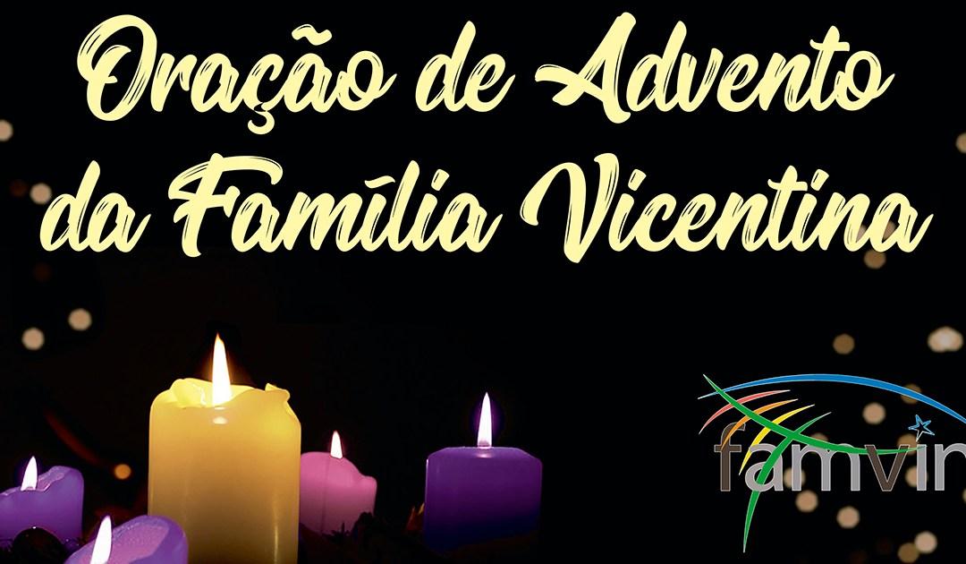 Reviver a oração de Advento da Família Vicentina 2020