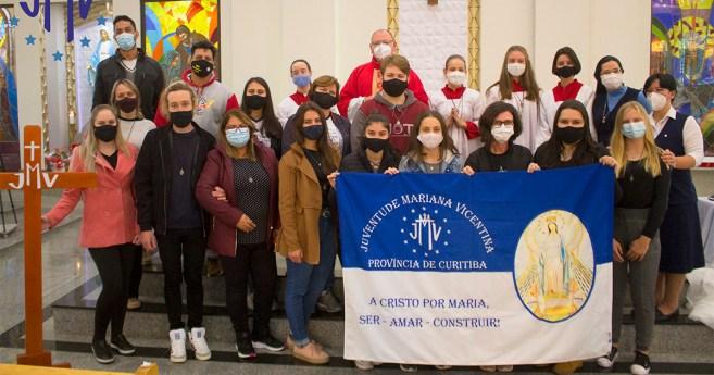 Novo grupo de Jovens Marianos, surge em meio a pandemia, na Província de Curitiba (Brasil)