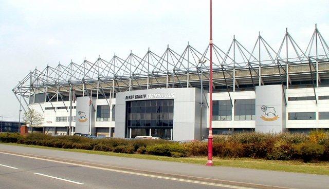 Pride Park, home of Derby County Football Club