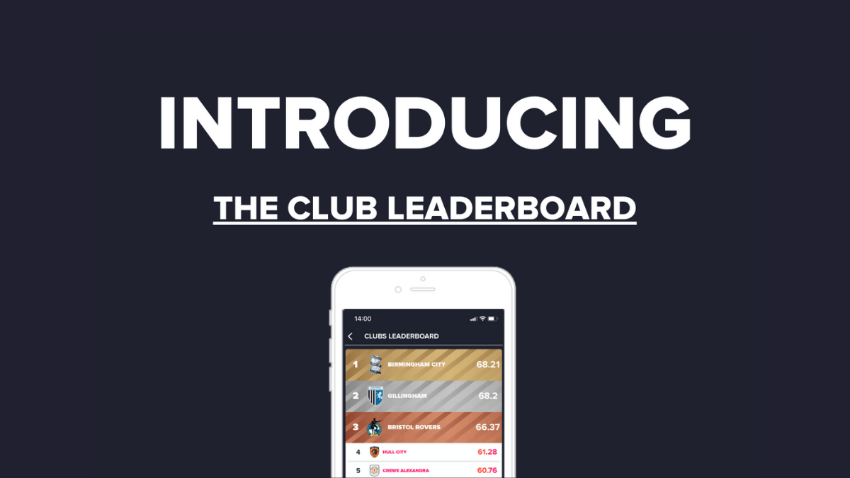 New Feature: Club leaderboard!