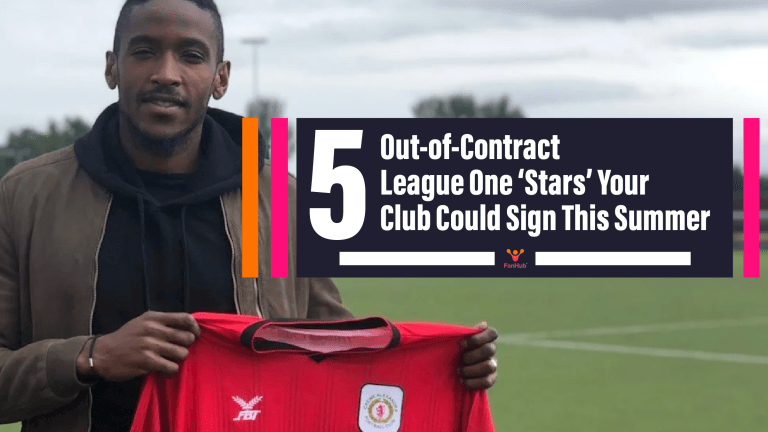 FIVE Out-Of-Contract League One 'Stars' Your Club Could Sign This Summer