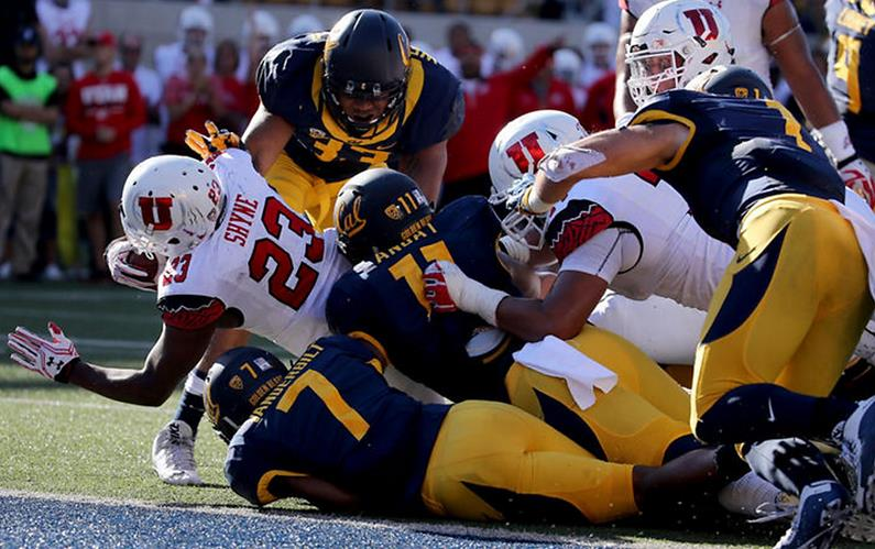 Goal-line stand helps California knock off No. 18 Utah 28 ...