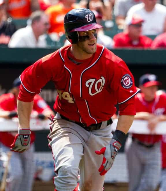 sale retailer 59e7d 573b5 Memorial Day Brawl: Bryce Harper Hit, Charges Mound As ...