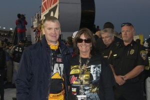 Fans can go online and bid for a chance to ride around the track with one of their favorite NASCAR stars, like Jeff Burton, during driver introductions for the Coca-Cola 600.  Photo - CMS/HHP
