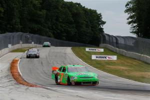 Danica Patrick drives the #7 GoDaddy.com Chevrolet during the NASCAR Nationwide Series Sargento 200 at Road America on June 23, 2012  Photo - Tyler Barrick/Getty Images