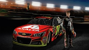 Axalta Coating Systems makes it debut at Pocono Raceway on Sunday, June 9.  Photo - Hendrick Motorsports