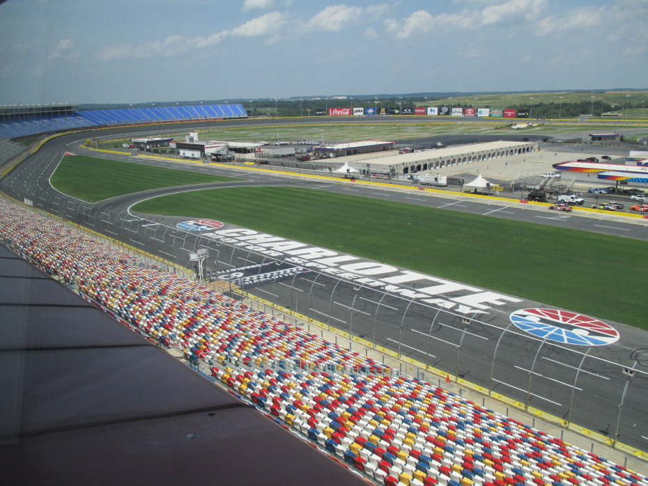 Charlotte motor speedway a clash of tradition and history for Charlotte motor speedway campground