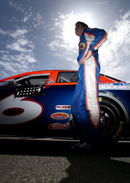 James Bickford, driver of the #6 Sunrise Ford/Lucas Oil/Eibach Ford, looks on during qualifying for the NASCAR K&N Pro Series West Carneros 200 at Sonoma Raceway on June 21, 2014 Photo - Sean Gardner/Getty Images