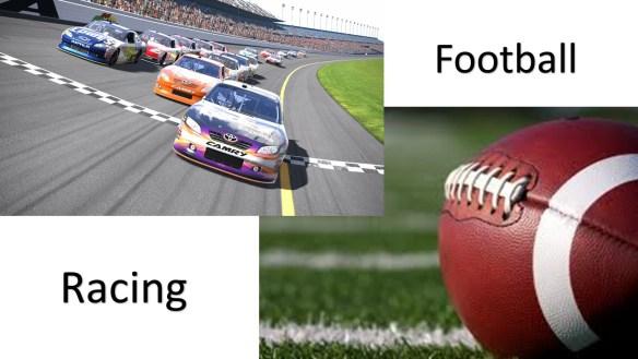 Football-Racing