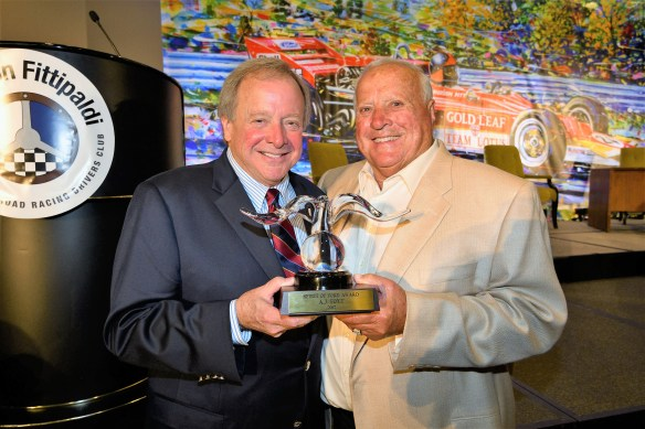 A J Foyt Honored With Spirit Of Ford Award Fan4racing