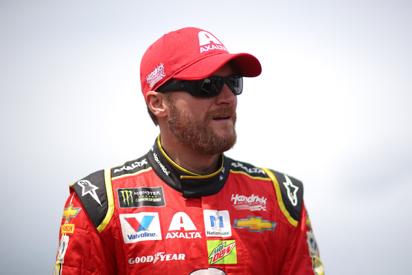 Earnhardt Makes Early Exit in Final Trip Around Watkins Glen