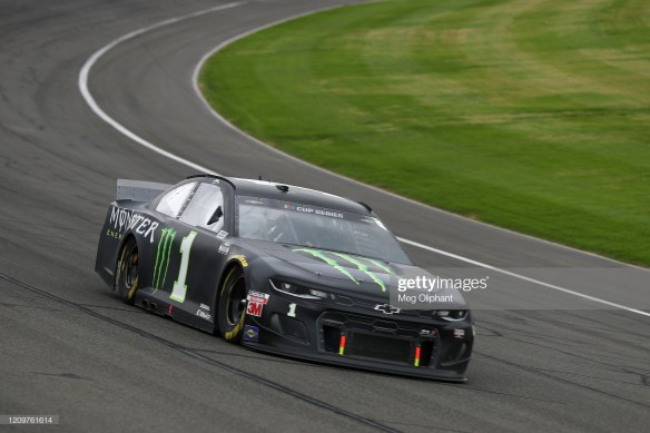 Kurt Busch finishes third in NASCAR Cup Series race at Auto Club Speedway. March 1, 2020