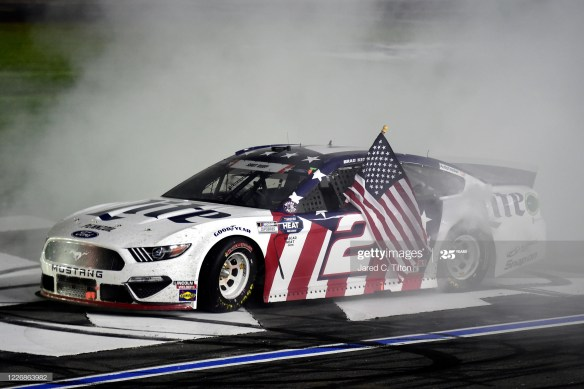 A Strong Finish for Brad Keselowski and Team Penske in the Coca Cola 600 at Charlotte Motor Speedway gives him another Crown Jewel victory.
