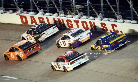 Midweek racing action from the NASCAR Cup Series at Darlington Raceway in the Toyota 500.