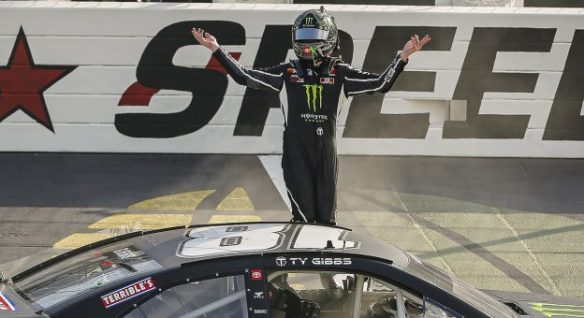 Ty Gibbs dominates at Iowa Speedway in the ARCA Menards Series Shore Lunch 150 on Saturday, July 18, 2020.