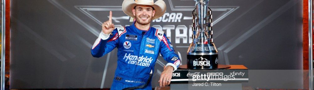 Kyle Larson continues his hot streak with a NASCAR All-Star Race win for the NASCAR Cup Series at Texas Motor Speedway on Sunday.