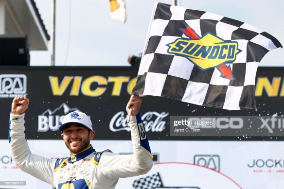 Chase Elliott reasserts road course mastery with a win at Road America in the NASCAR Cup Series Jockey Made in America 250 on Sunday afternoon.
