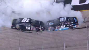 Ty Gibbs earns a Victory while Sammy Smith takes the ARCA East championship at Bristol Motor Speedway in the Bush's Beans 200 on Thursday