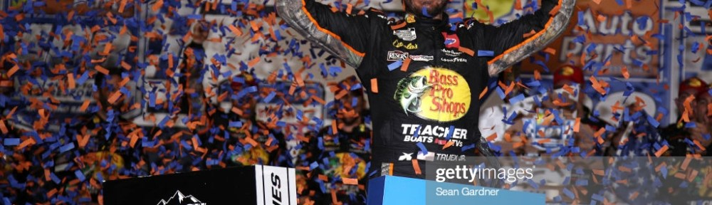 Martin Truex Jr. wins the Playoff race at Richmond Raceway in the Federated Auto Parts 400 Salute to First Responders on Saturday evening.