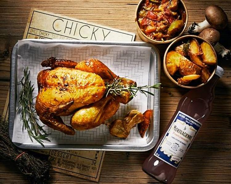 Rotisserie Chicken Paris