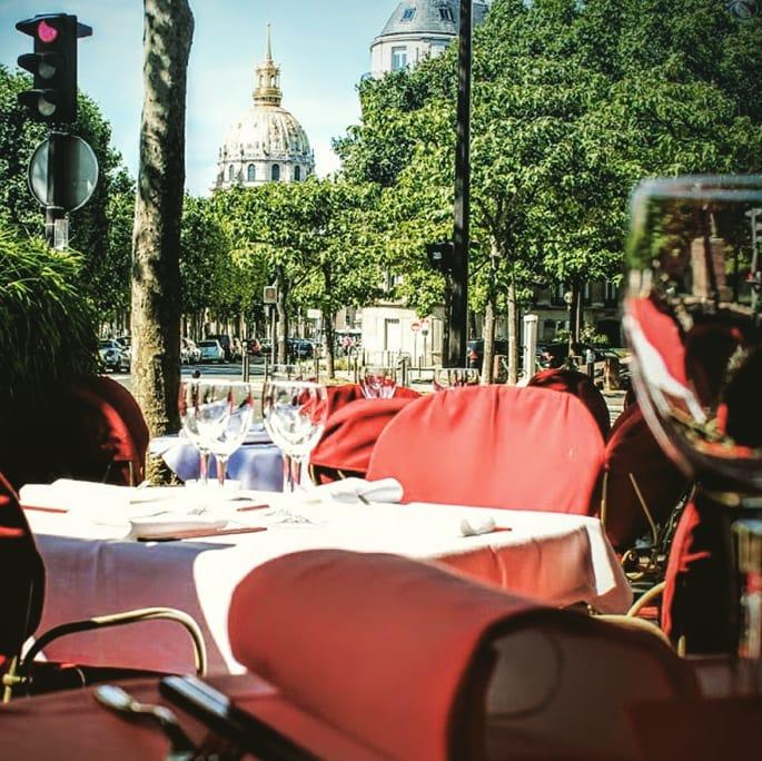 Lily Wang Paris Terrace