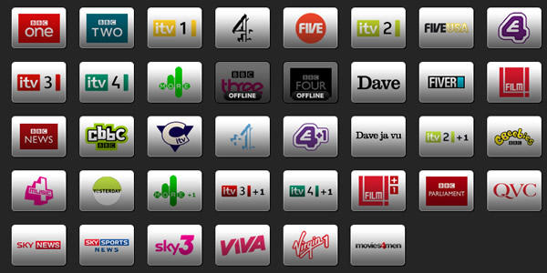 live tv channels available on iPhone