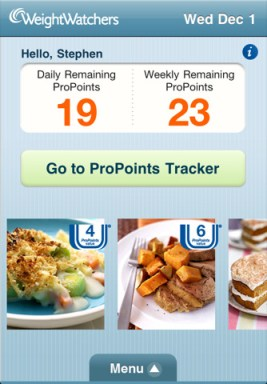 Weight Watchers iPhone App Review
