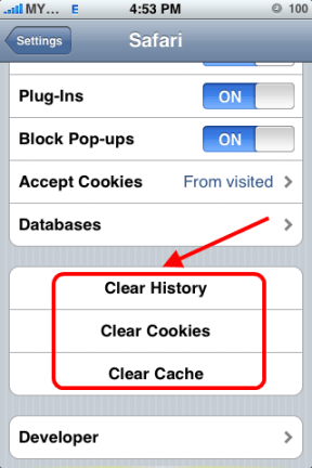How To: Clear your iPhone's Browser History