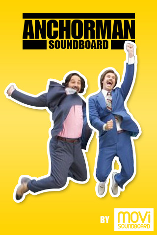anchorman soundboard iphone app review