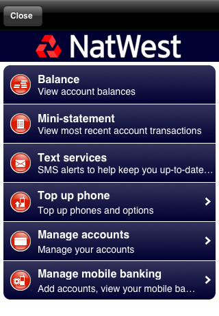 natwest iphone app review