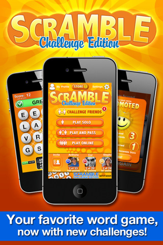 iphone app review - scramble