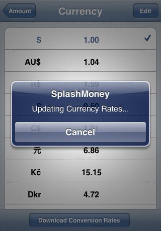 splash money iphone app review