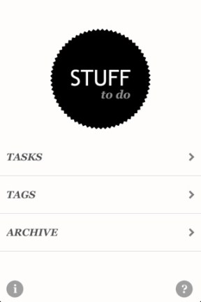 Stuff to do iphone app review