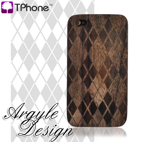 Exclusive TPhone Apple iPhone 4 100 Hard Wood Back Cover Case
