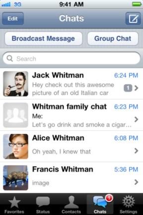 WhatsApp Messenger iPhone App Review