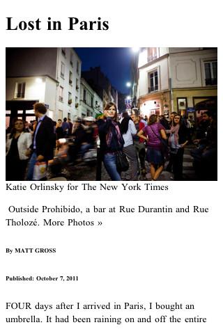 NY Times Himalaya Reader iPhone App Review
