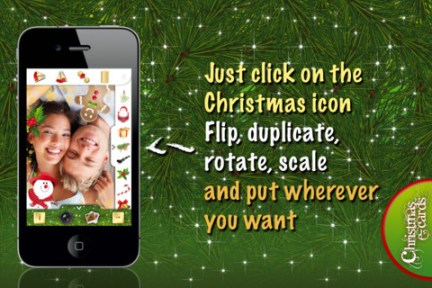 Christmas ecards iPhone App Review