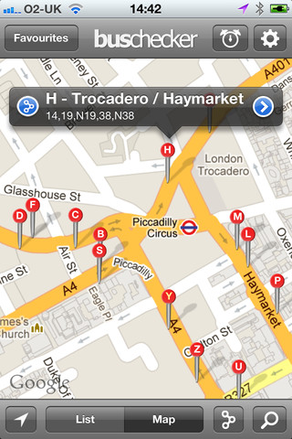 London Bus Checker iPhone APp Review