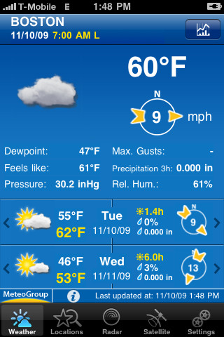Weather Pro iPhone App Review