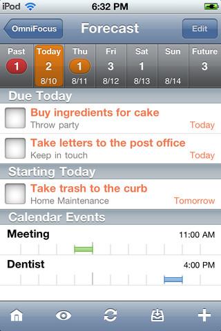 OmniFocus iPhone App Review