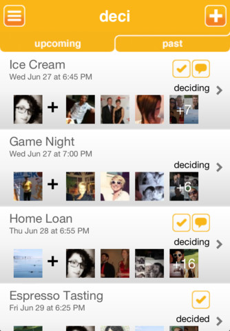 Deci iPhone App Review