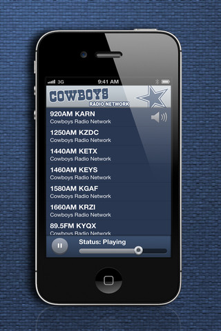 Cowboys Radio Network iPhone App Review